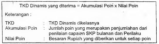 Pembayaran TKD Dinamis